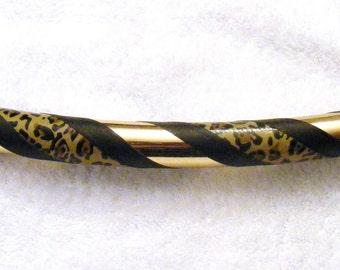 The Leopard Custom Hoop -Collapsible or Standard- ANY size Hoola Hoop