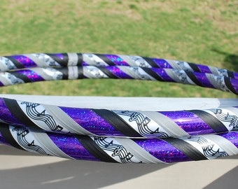 NEW: Purple Music Lover Custom Hula Hoop - Collapsible or Standard - ANY Size Hoola Hoop