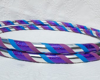 New: Delphinium Custom Hula Hoop - Collapsible or Standard - ANY Size Hoola Hoop