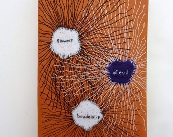Book bag                         Baudelaire - Flowers of Evil  (Les Fleurs du Mal)