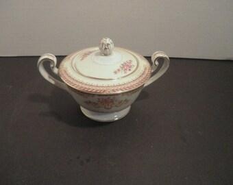 Fine Porcelain Noritake Japan Sugar Bowl