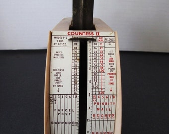 1971 Home or Business Postal Weighting Scale