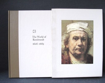 The World of Rembrandt Art Book 1st Printing