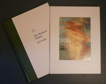 The World of Turner Art Book 1st Printing