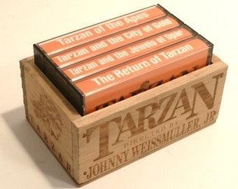 Tarzan Audio Tapes by Johnnie Weissmuller Jr.