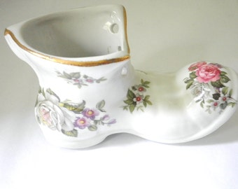 Harmony Rose Old Foley Collectible Miniature Shoe