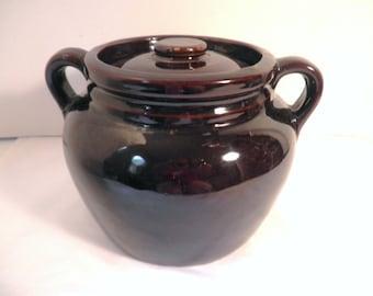 USA Pottery Bean Pot