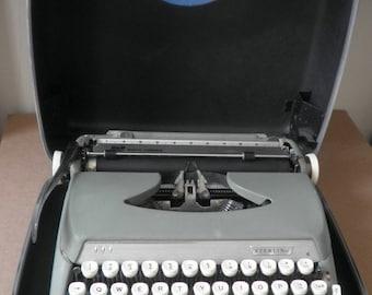 Smith Corona Portable Typewriter Circa 1960s
