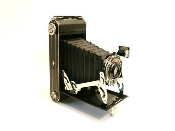 Art Deco Kodak Six 16 Folding Film Camera Circa 1930 s