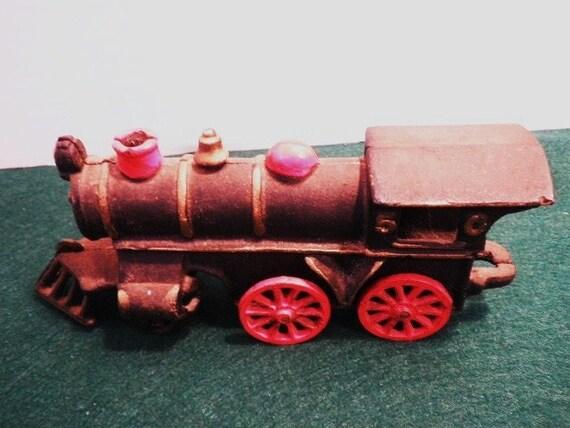 Early Cast Iron Locomotive