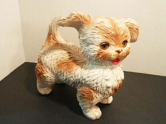 1960s era  1 Dog Rubber Squeaky Toy