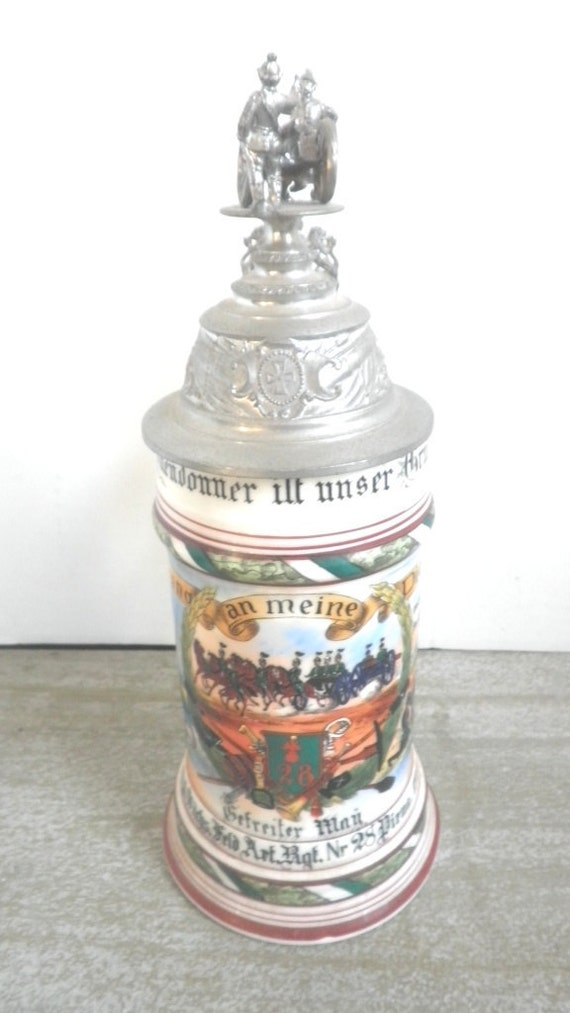Regimental Beer Stein Artillery Regiment Company 28 By
