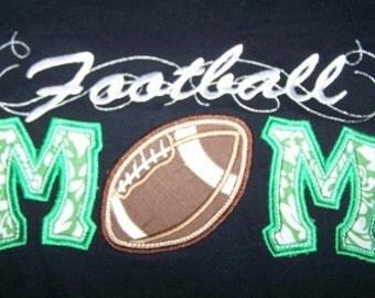 Football Mom Shirt Football Mom School Tshirt Football Mom Team Shirt