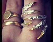 Bird Claw Finger Clasping Rings