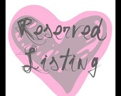 Reserved listing for Andrea Toms