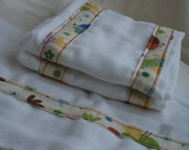 Baby Burp Cloth Set
