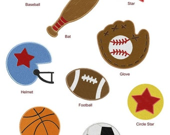Sports Machine EMBROIDERY Designs