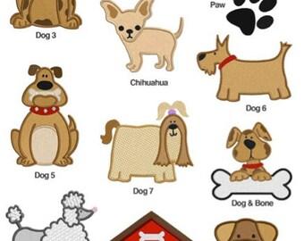Dog Machine Embroidery Designs