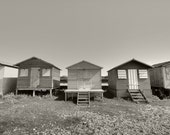 Whitstable1BW - 7.3 x 11 Giclee Printed Photograph