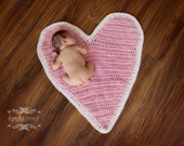 SALE Heart Mat or blanket (Ready to ship)