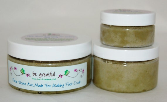 These Boots Are Made For Walking Foot Scrub 2 Ounces