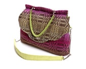 Large Retro Handwoven Bag