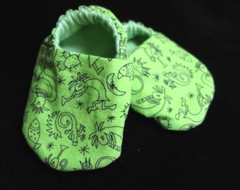 Kokopelli Baby Booties