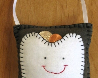 Tooth Fairy Pillow - Olive Drab