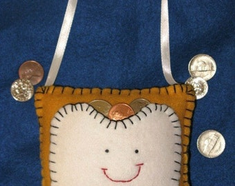 Tooth Fairy Pillow - Honey Gold