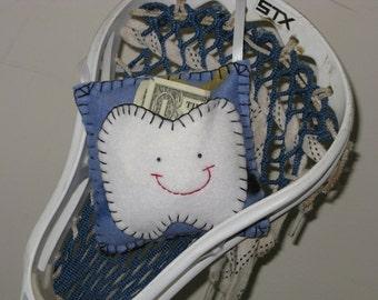Lacrosse Fleece Tooth Fairy Pillow
