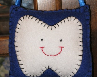Royal Blue Tooth Fairy Pillow