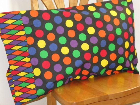 Reserve Listing for Michelle - Polka Dot Pillowcase - Standard Size