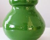 Bellied Clover Green Vase