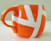 Fire Orange Mug