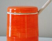 Fire Orange Honey Pot