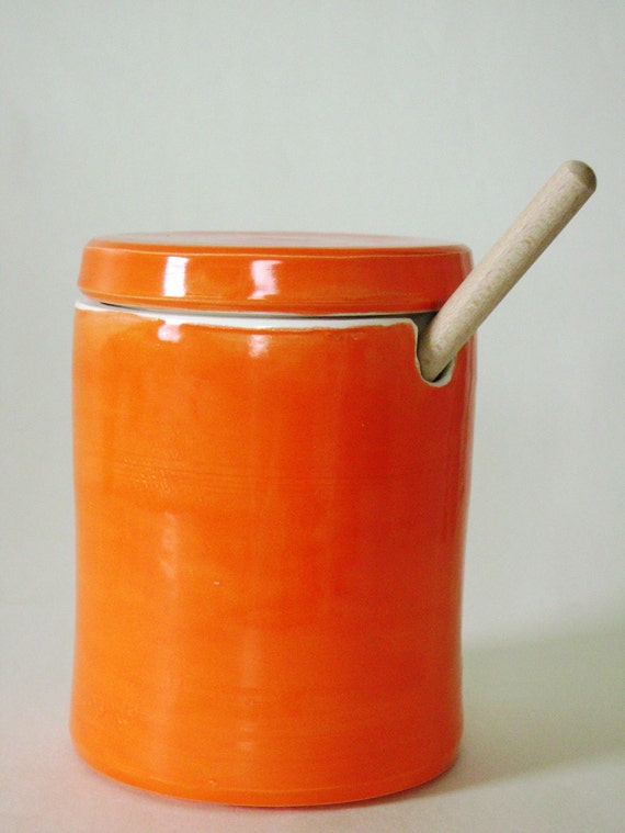 Orange Honey Pot