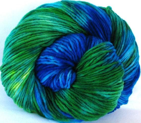 Merino Yarn, Hand Dyed, Single Ply (KJO03)