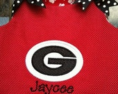 Georgia Go Dawgs A line dress