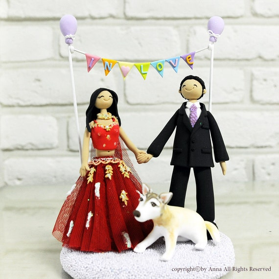 Personalized Wedding Gifts For Couple Indian : similar to Indian couple custom wedding cake topper decoration gift ...