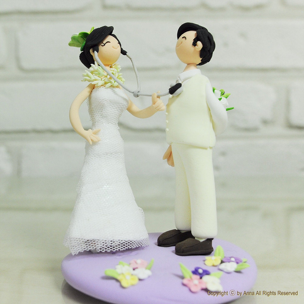 Female Doctor Cake Topper