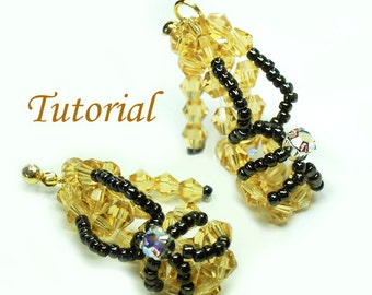 Beading Tutorial - Beaded High Heels Earrings