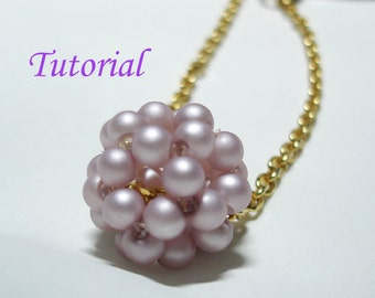 Beading Tutorial - Beaded Ball Pattern
