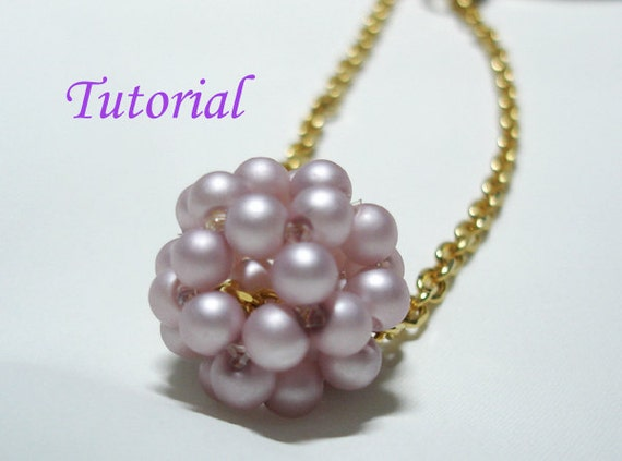 beading tutorial beaded by splendere on etsy