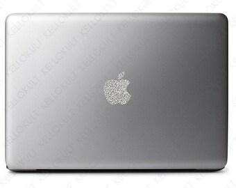 "Sparkling Silver Apple Macbook Pro 13"" & 15"" 2011-2015 version"