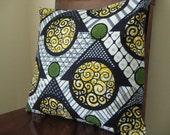 Throw Pillow Cover 18x18 - Uganda
