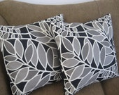 Pillow Covers 18x18 Moonlight at Midnight Set of 2