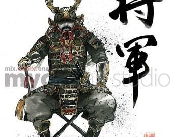 Shogun, Samurai General at War 8x10 PRINT