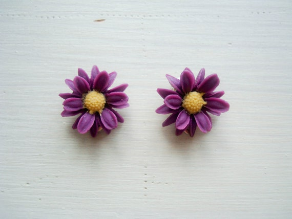 As If By Magic -earrings CLIP ONs