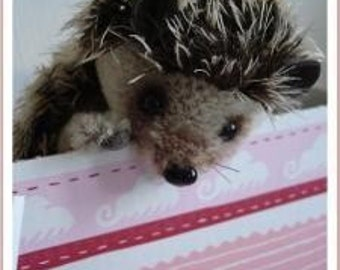 "Sewing Pattern for 5.5 inch Hedgehog ""Mecki"" PDF"