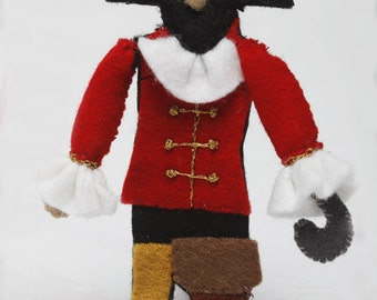 PATTERN: Pirate Ship Dolls and Treasure Chest
